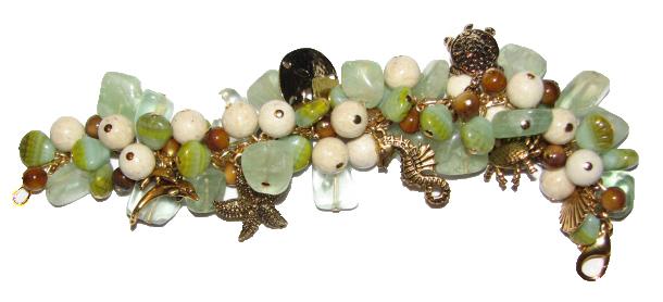 Julia Bristow Ocean Charm Bracelet