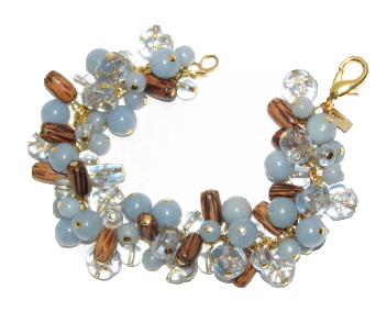 Julia Bristow Beaded Bracelet :  global etsy womens apparel vintage