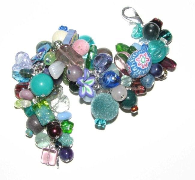 Julia Bristow Ultimate Charm Bracelet #10 :  bristw julia beadwork signed