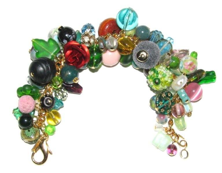Julia Bristow Ultimate Charm Bracelet #12 :  bristw julia beadwork signed