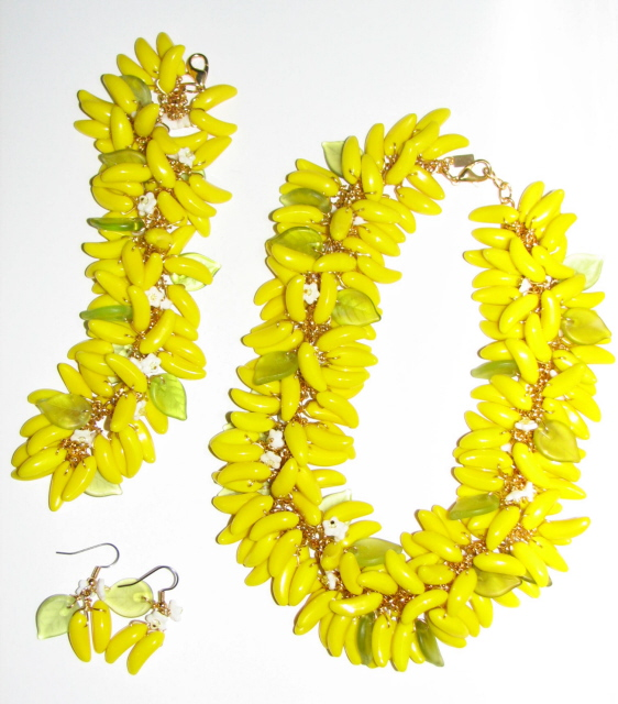 Julia Bristow Banana Necklace