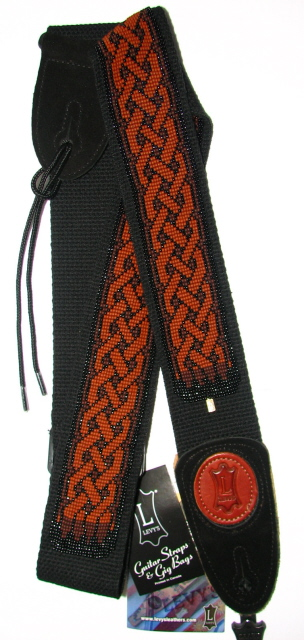 Julia Bristow Beaded Guitar Strap :  indie design julia trendy