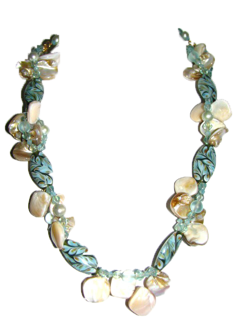 Julia Bristow Beaded lei :  julia bristow quality wearable bead