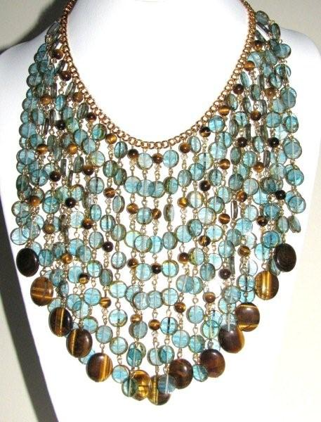 Julia Bristow bib necklace