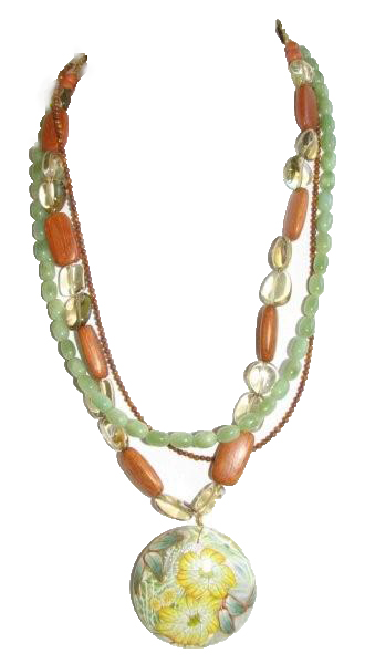 Julia Bristow Necklace :  bristw julie julia beadwork