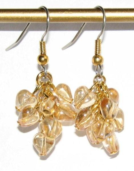 Julia Bristow Jewelry Earrings :  juliabristow beadwork earrings vintage