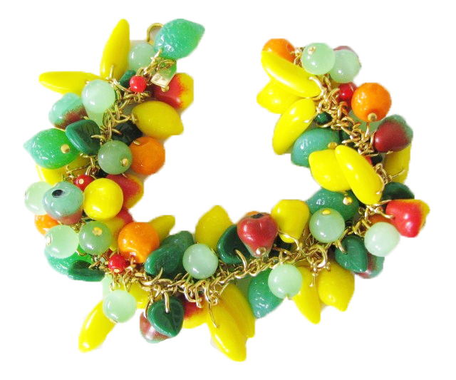 Julia Bristow Fruit Jewelry - Fruit Bracelet