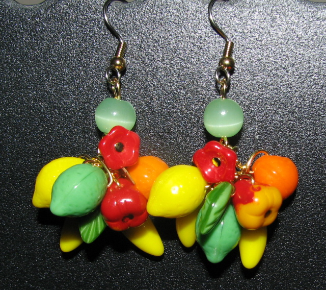 Julia Bristow Jewelry - Fruit Earrings