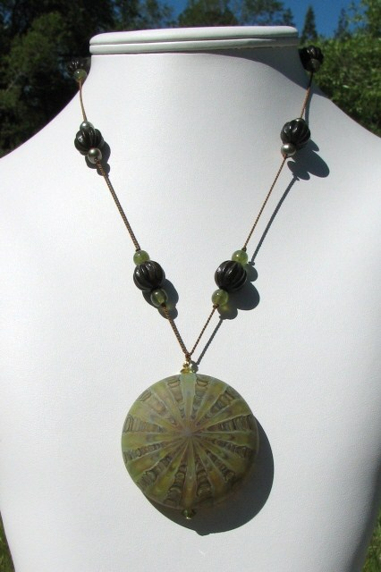 Nature's Presence by Julia Bristow Necklace #13
