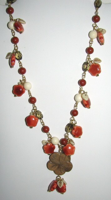 Julia Bristow Necklace :  necklace handcrafted accessories vintage-style