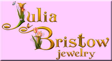 Julia Bristow handcrafted artisan signed beaded jewelry